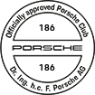 Officially approved Porsche Club 186
